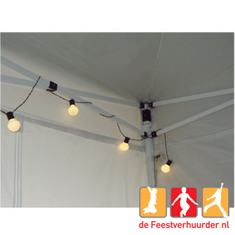 Partytenten : LED partyverlichting wit 9m