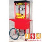 Popcorn machine + Onderwagen