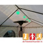 09013 Led partyverlichting wit foto